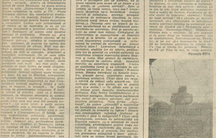 Biserica și Revoluția III – 18.02.1990 – România Liberă – Lumea Creștină
