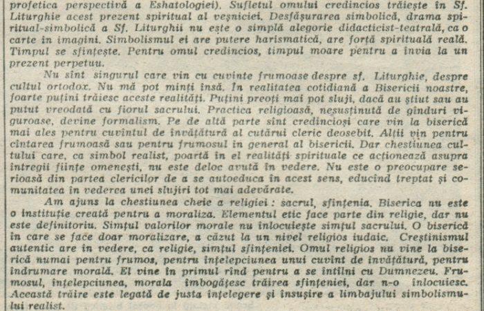 Despre Ortodoxie III – 12.03.1990 – România Liberă – Lumea Creștină