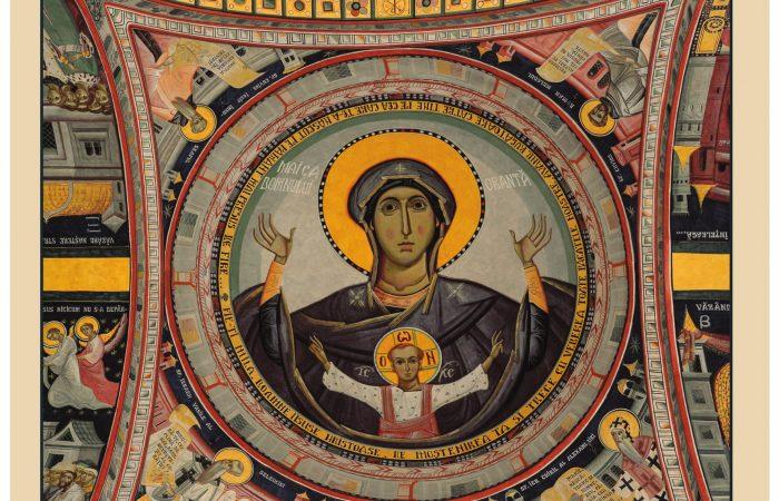 Imnul Acatist – 17.10.2014 – Chipul Maicii Domnului din calota pronaosului